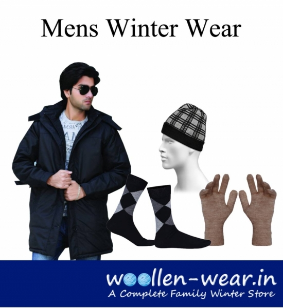 Mens Merino wool thermal to protect from severe cold