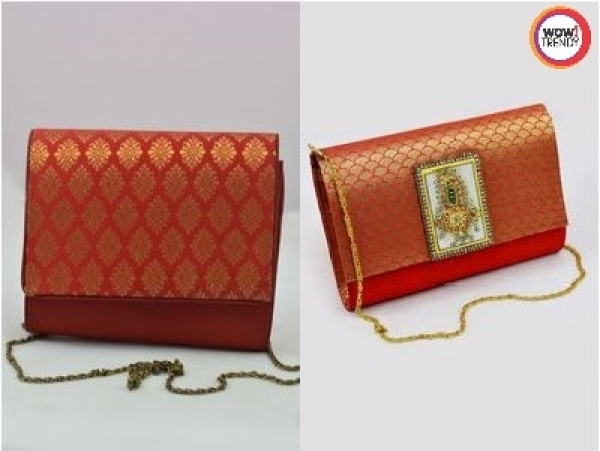 Buy Brocade Weaved Trendy Bags at Wowtrendy.com