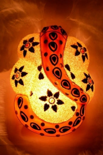 Buy Decorative Ganesha Wall Lamp at Wowtrendy.com