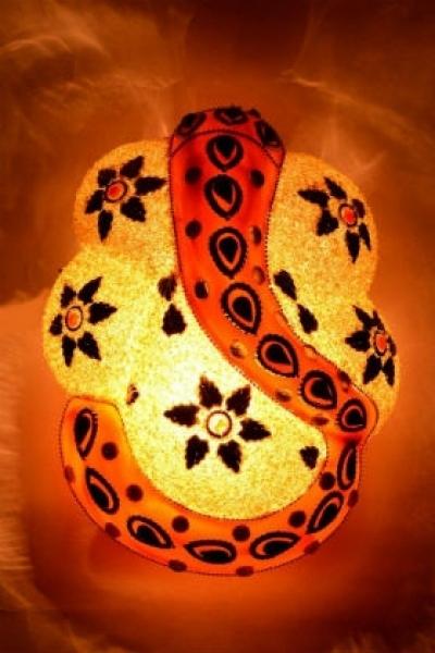 Buy Decorative Ganesha Wall Lamp at Wowtrendy.com