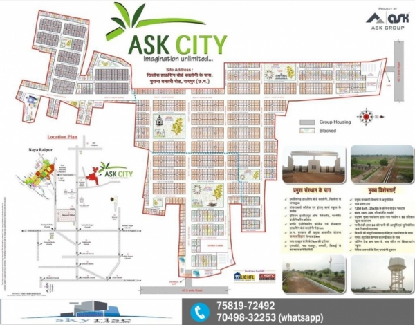 TNC AND LAYOUT APPROVED PLOTS