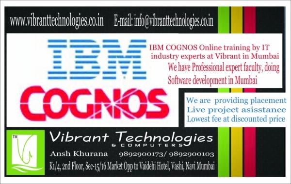Cognos Professional  classes in mumbai