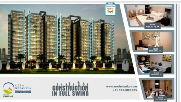 Buy Ultra Luxury Flats in a Clean Green Environment at Vrindavan Yojna, Lucknow