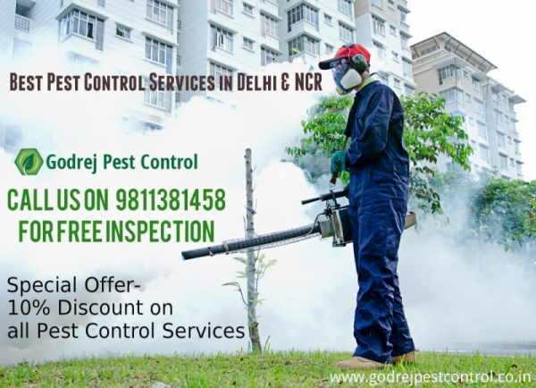 Flat 10% OFF on all Pest Control Services - Contact Godrej