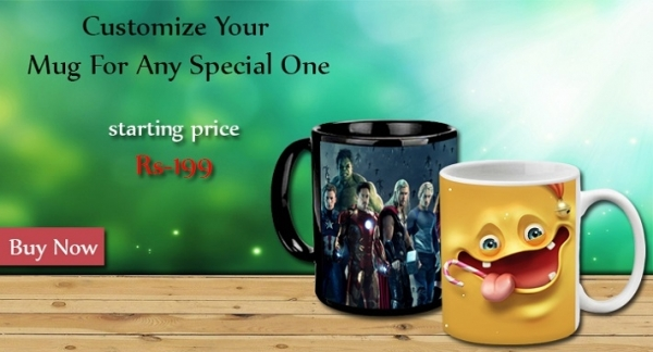 Customize your own mugs online at 99wish