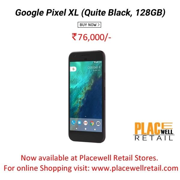 Google Pixel XL (Quite Black, 128GB) Mobile Best Price in Siliguri