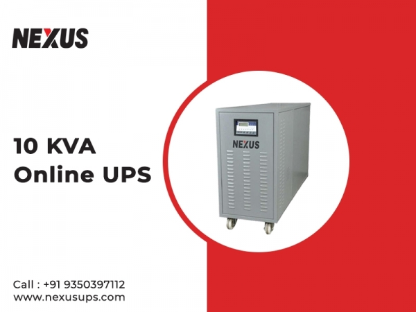 Get 10 KVA Online UPS Price Suitable Under Your Budget