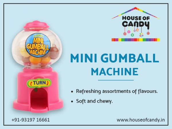 Buy Gumball Machine Online at Best Discounted Prices | House Of Candy