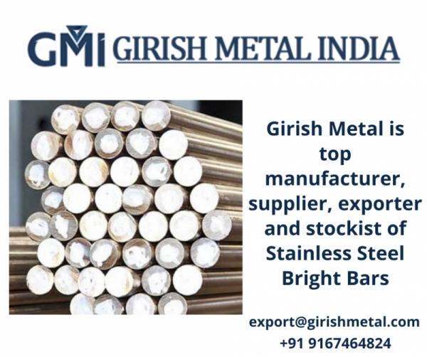 Manufacturers and Exporters of SS Bright Bars