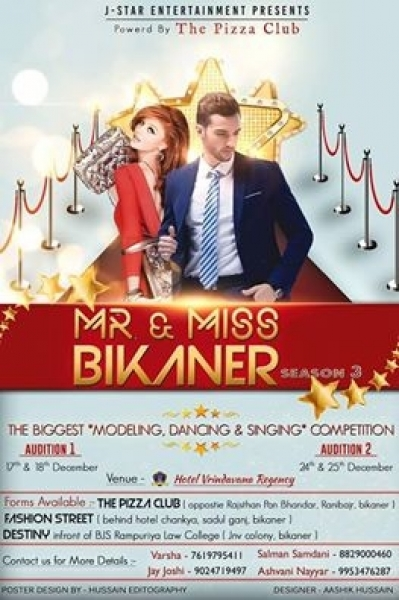 Mr and Miss Bikaner Competition