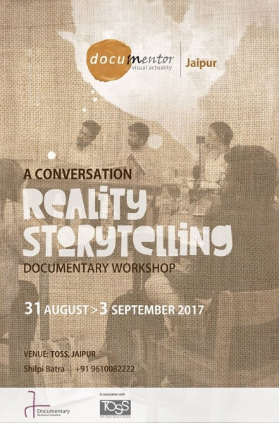 Reality Storytelling Documentary Workshop
