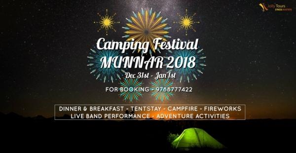 Camping Festival Munnar New Year 2018