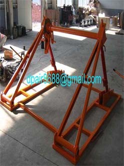 Hydraulic Lifting Jacks For Cable Drums,Jack towers