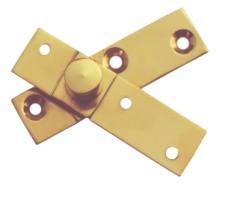 Brass Pivot Hinges Side