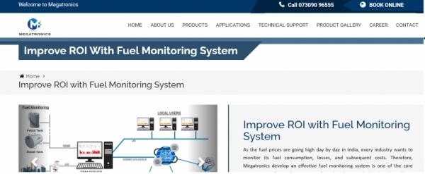 Fuel Monitoring System - Megatronics