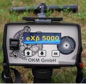 OKM EXP 5000-Gold Edition 3D Ground Scanner