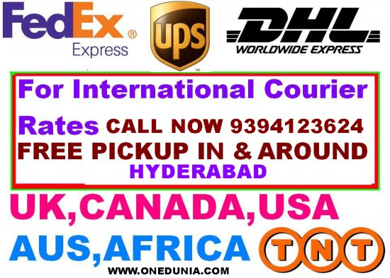 Hyderabad International Courier services