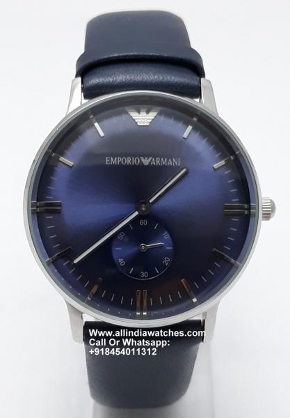 Armani  AR1647 Blue Unixex Watch