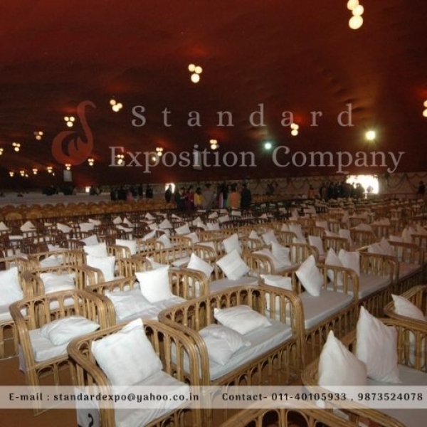 Banquet Chairs and Tables on rent