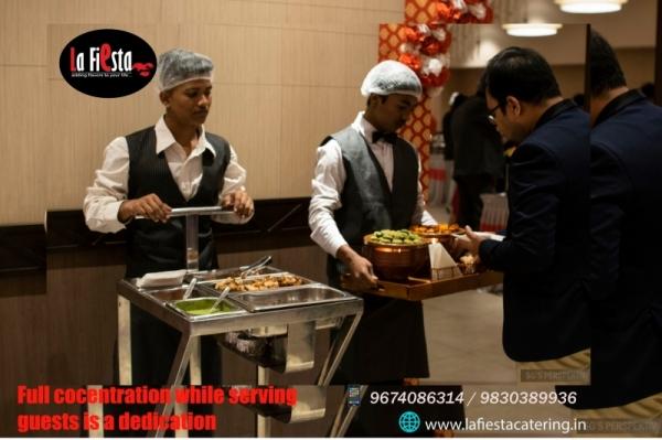 La Fiesta Catering services Snacks trolley