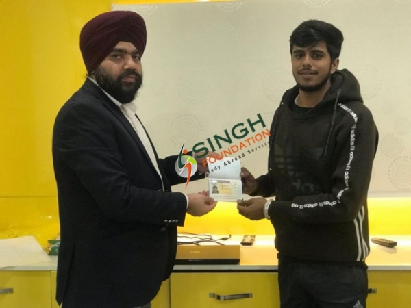 Study Visa Success for Canada - Singh Foundation