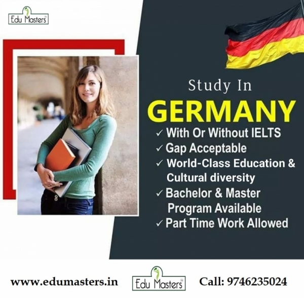 Study In GERMANY Business Photo Album