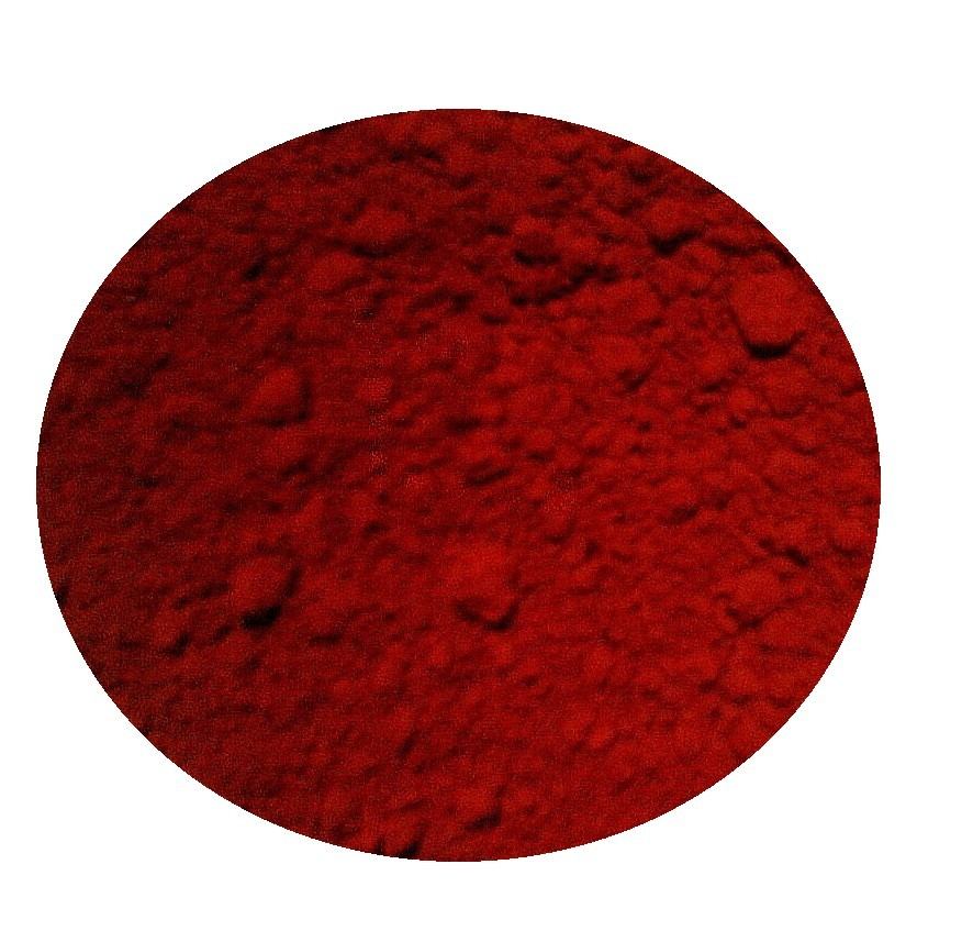 iron oxide red, yellow & oxide colo