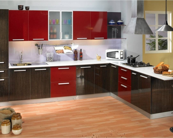 Godrej interio modular kitchens modular kitchens for M kitchen hyderabad