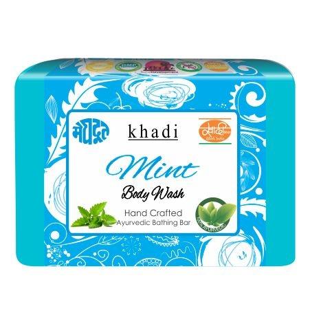 Meghdoot Herbal Mint Body Wash 125 gm