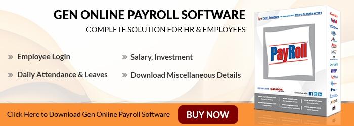 Gen Online Payroll Software