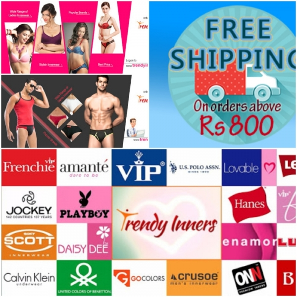 Innerwear Online Shopping for Men, Women - Underwears, Bras, Panties