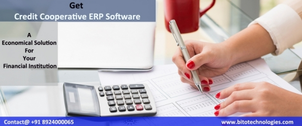 Credit Cooperative Society ERP Software