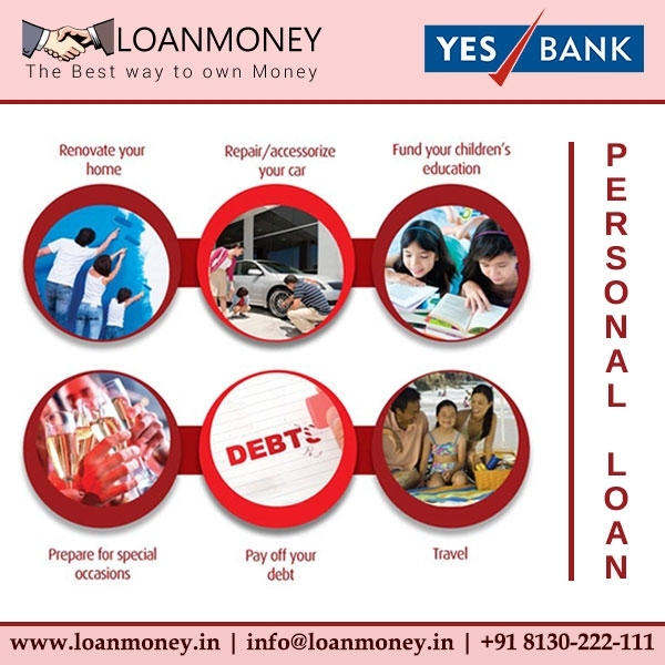 Yes Bank Personal Loan through LoanMoney