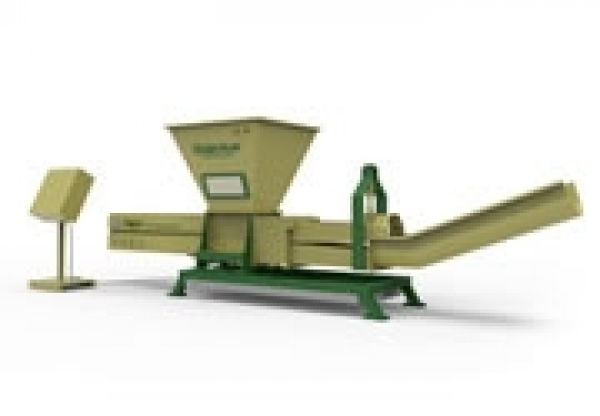 PET Bottles Dewatering Compactor Poseidon Series from GREENMAX