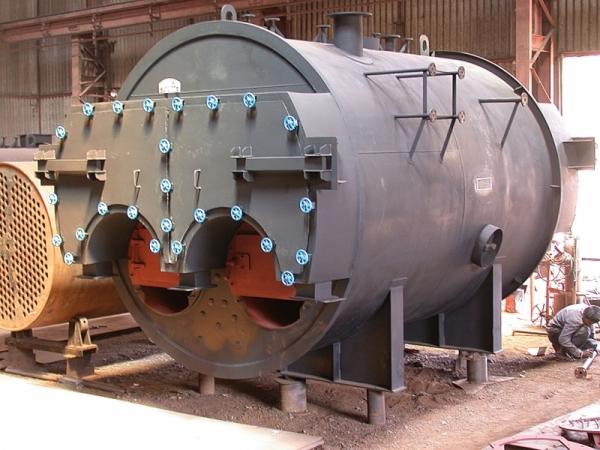 Intech-Three Pass Internal Furnace Packaged Type Boilers