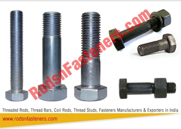 Hex Bolts Fasteners Exporters in India