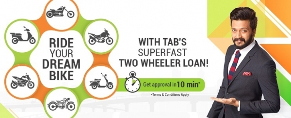 Two Wheeler Loan by TAB Capital