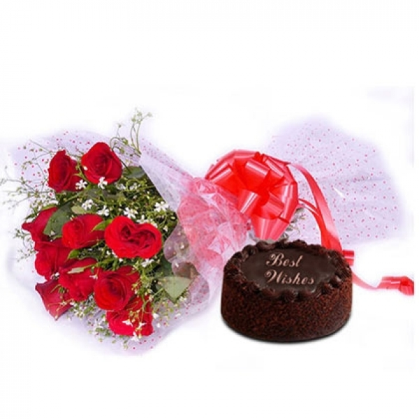 Delightful Red Hamper