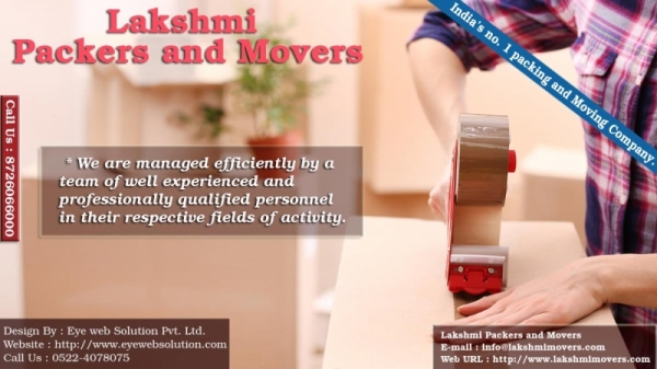 Lakshmi Packers and Movers