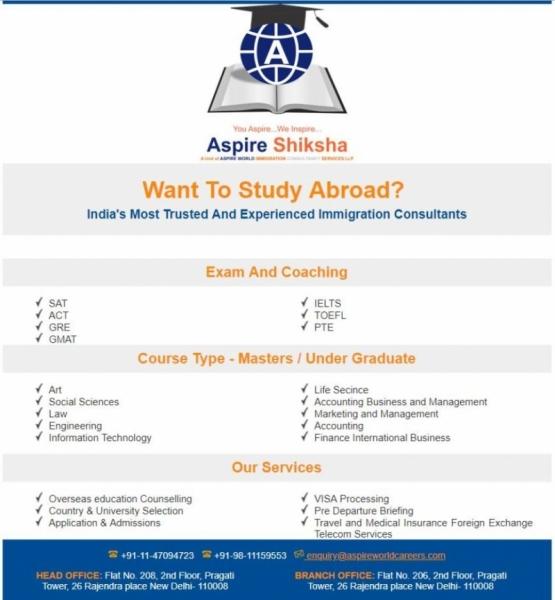 Aspire Shiksha Overseas Education Consultants